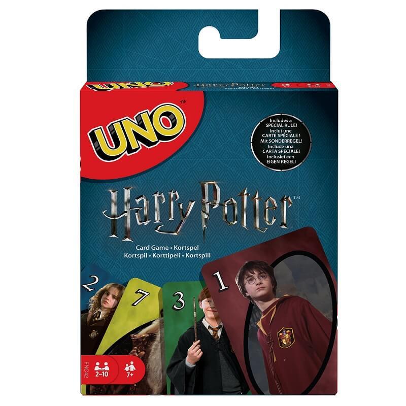 Schachtel Vorderseite- UNO - Harry Potter