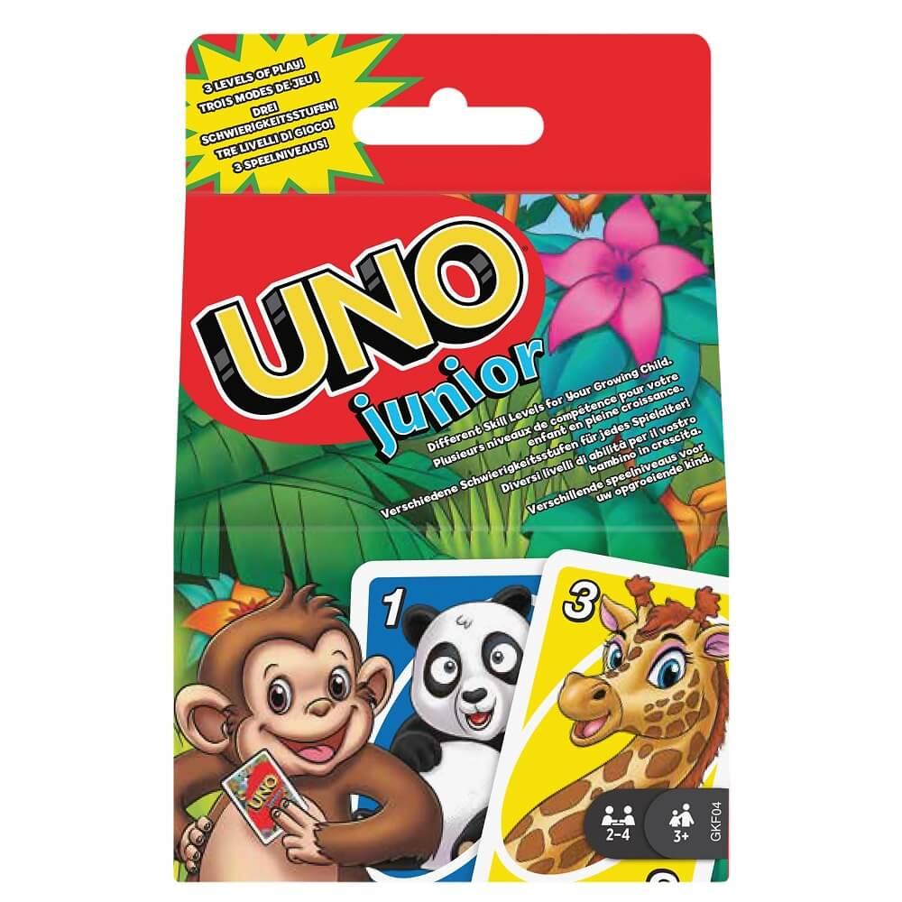 Schachtel Vorderseite- UNO - Junior