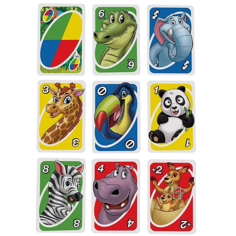 Spielkarten- UNO - Junior