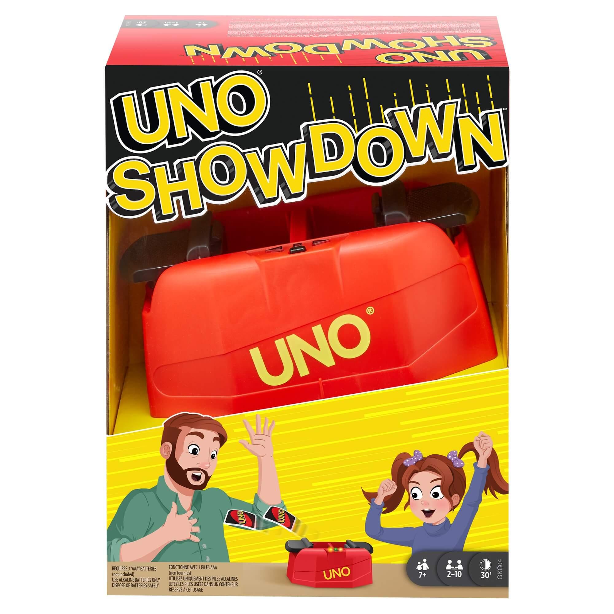 Schachtel Vorderseite- UNO - Showdown