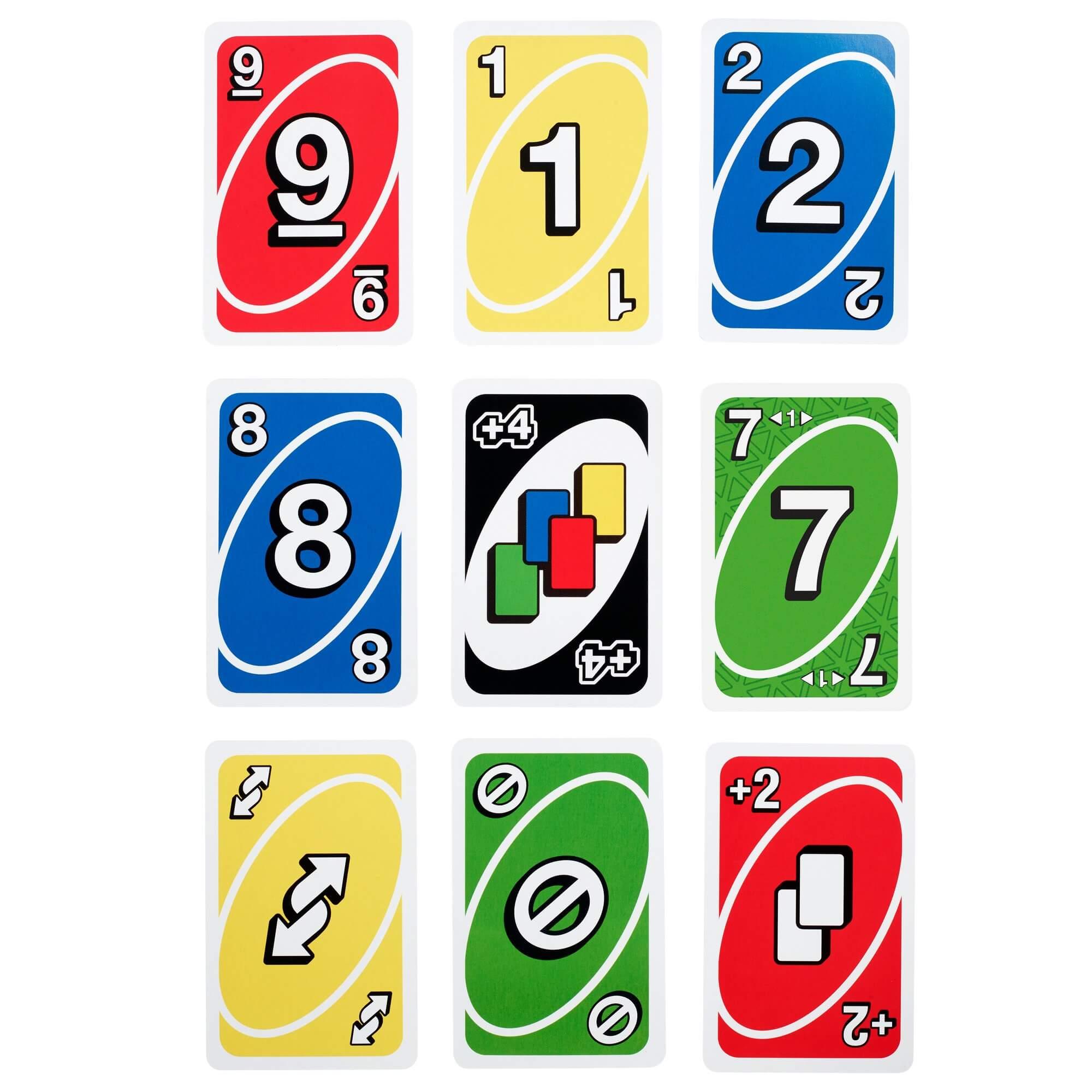 Spielkarten- UNO - Showdown