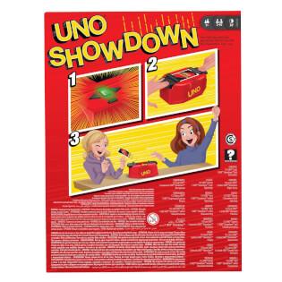 Schachtel Rückseite- UNO - Showdown