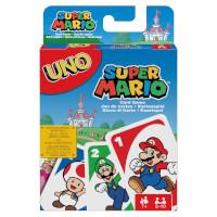 Schachtel Vorderseite - UNO - Super Mario
