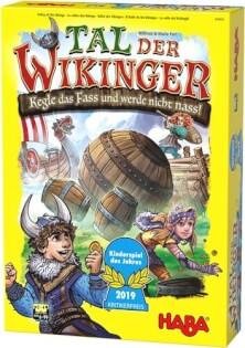 Schachtel Vorderseite - Kinderspiel des Jahres 2019- Viking Valley