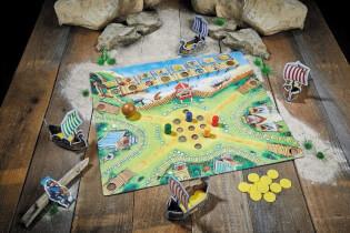 Spielmaterial - Kinderspiel des Jahres 2019- Viking Valley