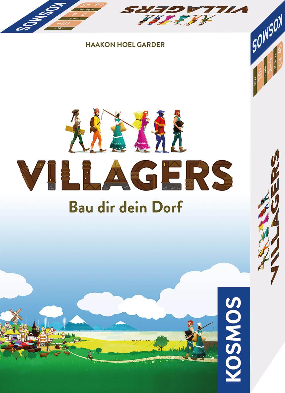 Schachtel Vorderseite- Villagers