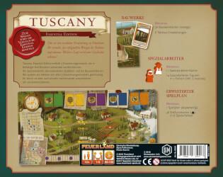 Schachtel Rückseite- Tuscany Essential Edition