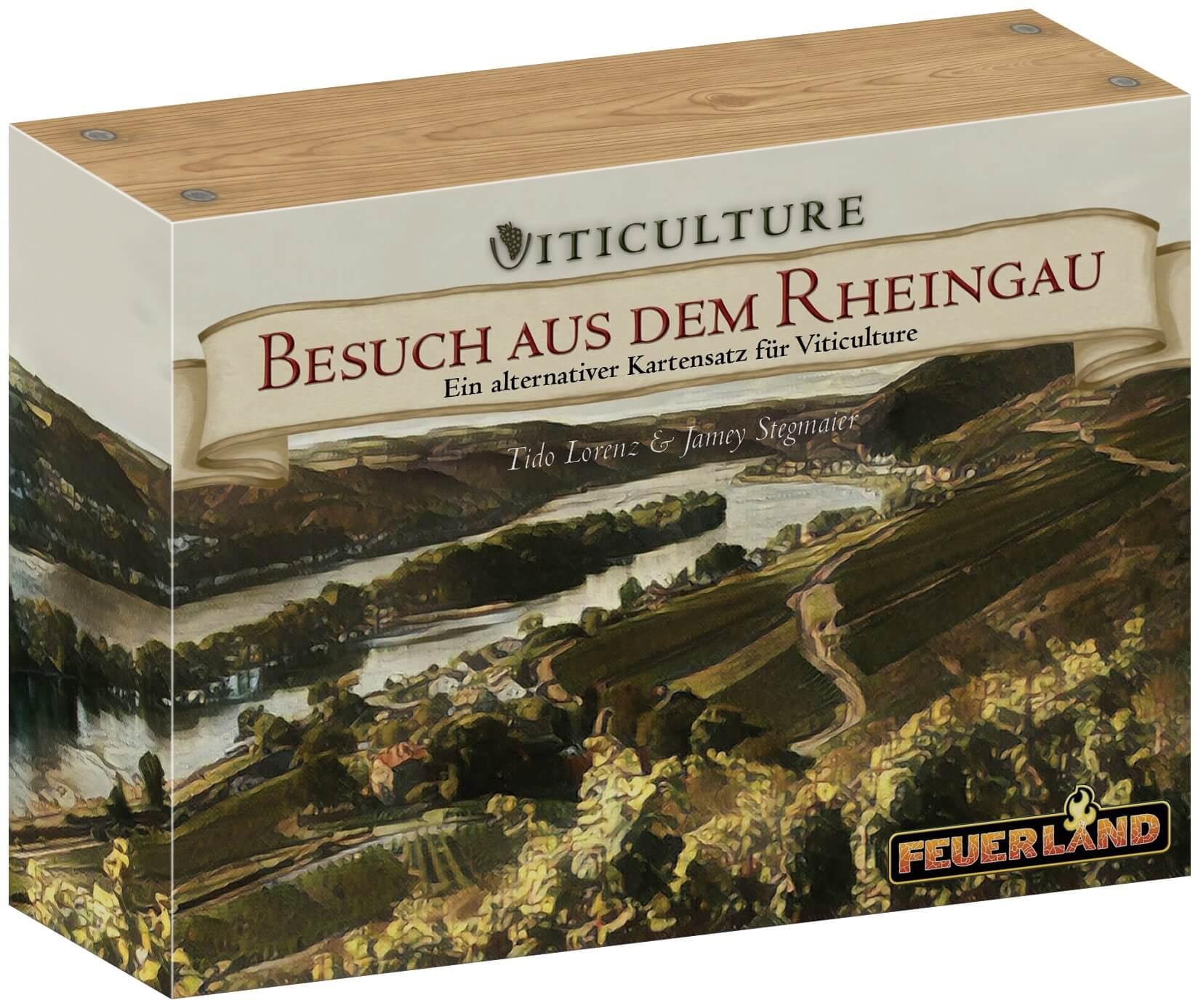 - Viticulture: Besuch aus dem Rheingau