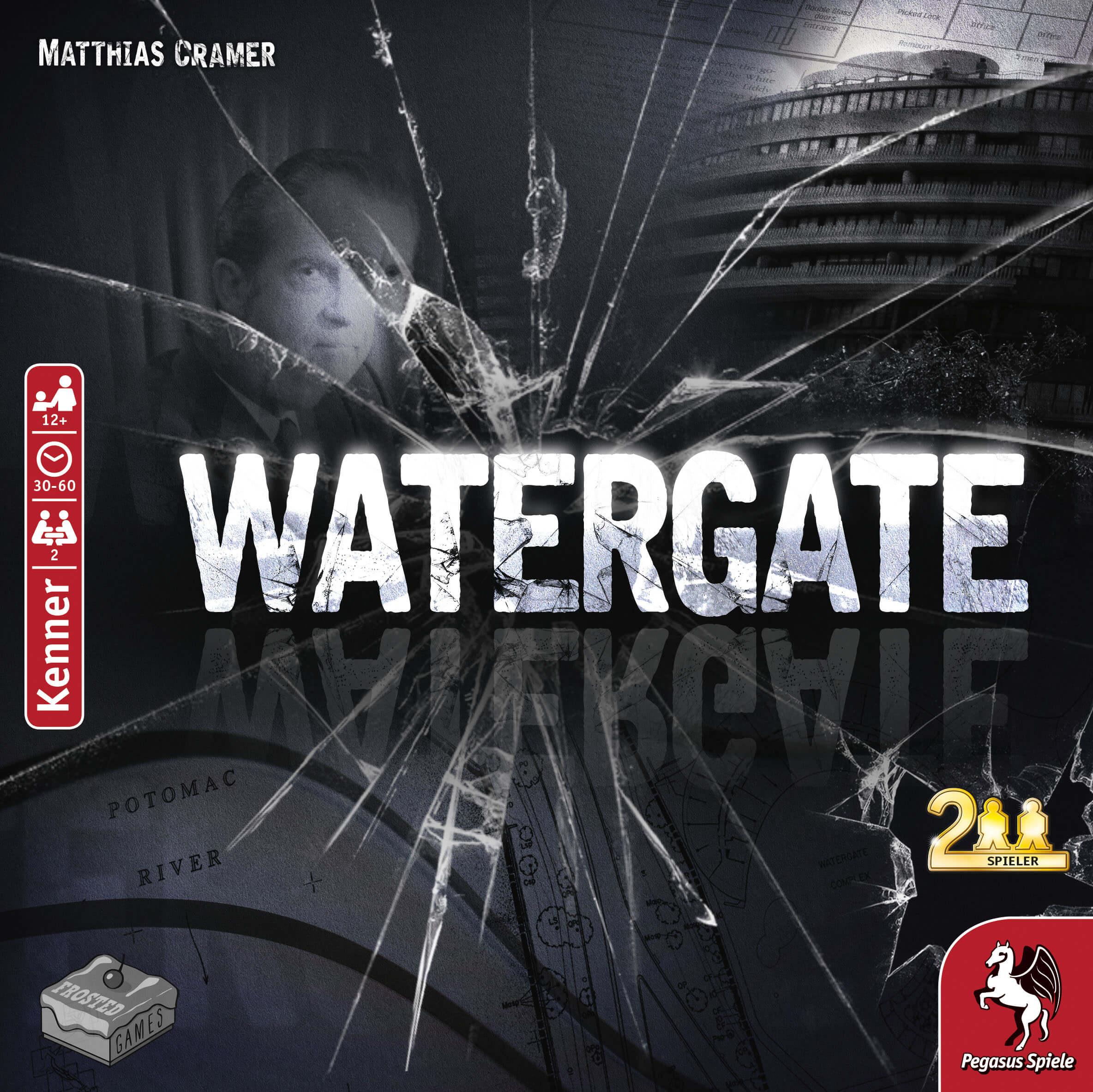 Schachtel Vorderseite- Watergate