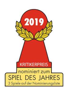 Auszeichnung - nominiert zum Spiel des Jahres 2019- Werwörter