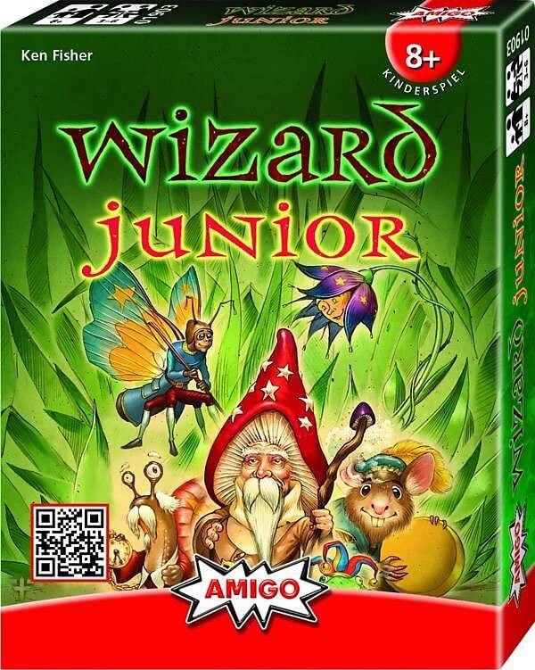 Schachtel Vorderseite- Wizard Junior
