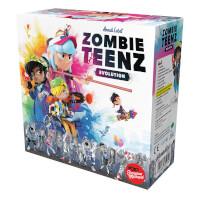 Schachtel Vorderseite - nominiert zum Spiel des Jahres 2021 - Zombie Teenz Evolution
