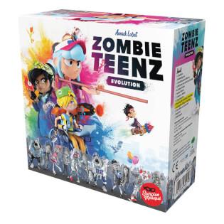 Schachtel Vorderseite - nominiert zum Spiel des Jahres 2021- Zombie Teenz Evolution