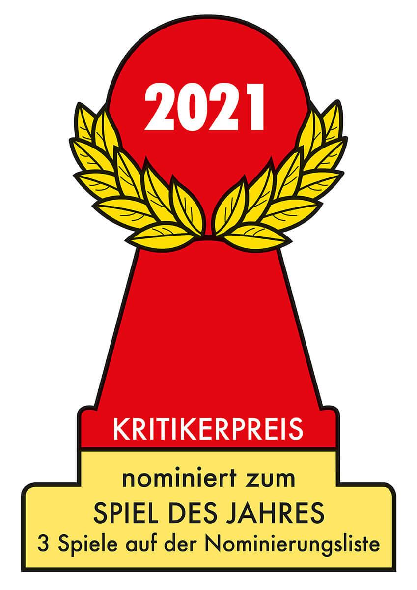 Nomination zum Spiel des Jahres 2021- Zombie Teenz Evolution