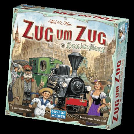 Schachtel Vorderseite- Zug um Zug - Deutschland