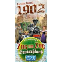 Schachtel Vorderseite - Zug um Zug - Deutschland 1902