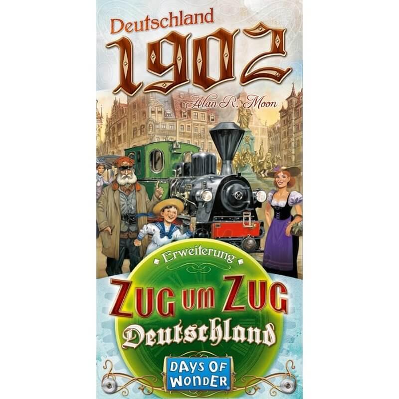 Schachtel Vorderseite- Zug um Zug - Deutschland 1902