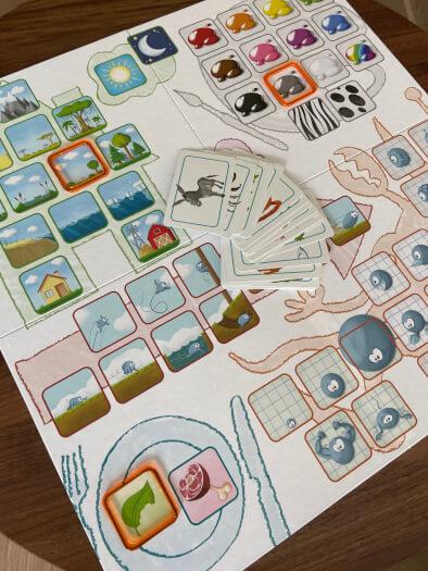 Concept Kids - Tiere - Spielplan im Detail