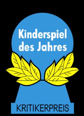 Blauer Pöppel/Halmakegel der Kinderspiel des Jahres Auszeichnung