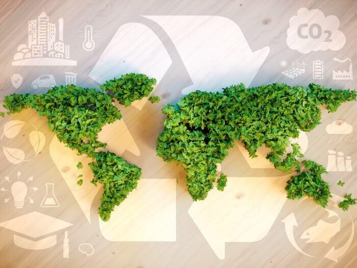 Nachhaltiger Versand, Ökologischer Fussabdruck
