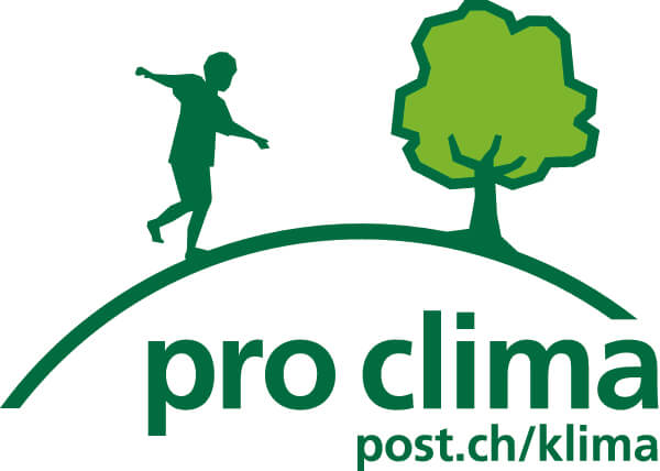 Das Pro Clima Logo der Post
