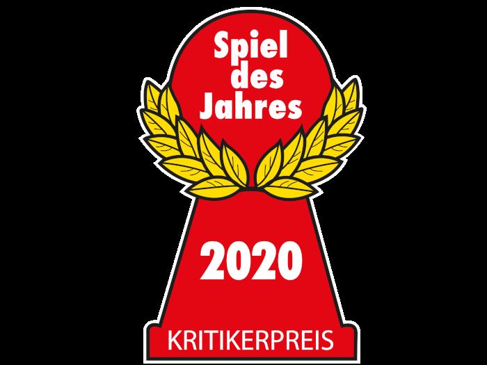 Roter Pöppel der Spiel des Jahres 2020 Auszeichnung