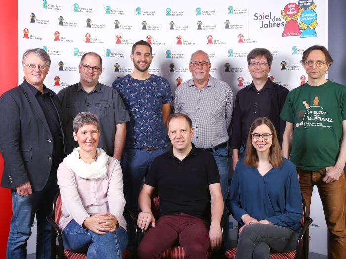 Spiel des Jahres Jury aus 2019
