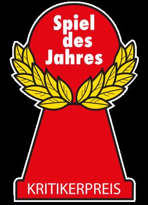 Roter Pöppel der Spiel des Jahrees Auszeichnung