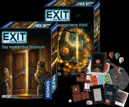 Spielmaterial Exit - Das Spiel