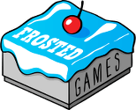 Logo Brettspieleverlag Frosted Games