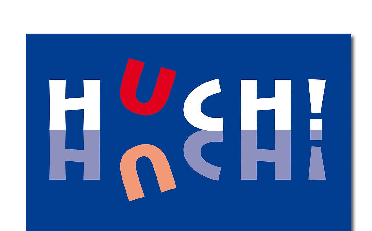 Logo Brettspieleverlag HUCH!