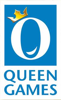 Logo Brettspieleverlag Queen Games