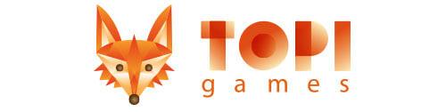 Logo Brettspieleverlag Topi Games