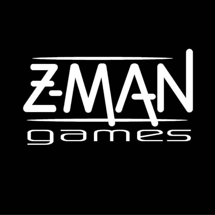 Logo Brettspieleverlag Z-Man Games, Inc.